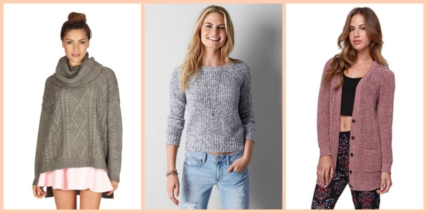 (L to R)  1. Cotton On 2. American Eagle 3. PacSun