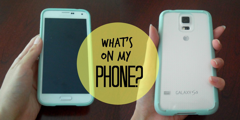 What's on my phone? – Juleps & Tea